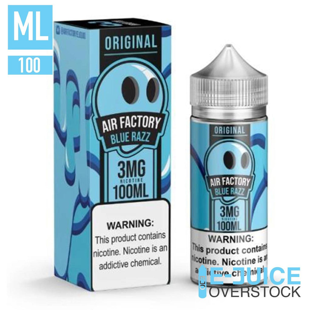 Blue Razz by Air Factory 100ML EJUICE - EJUICE
