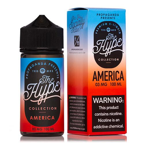America By The Hype Collection 100ML EJUICE