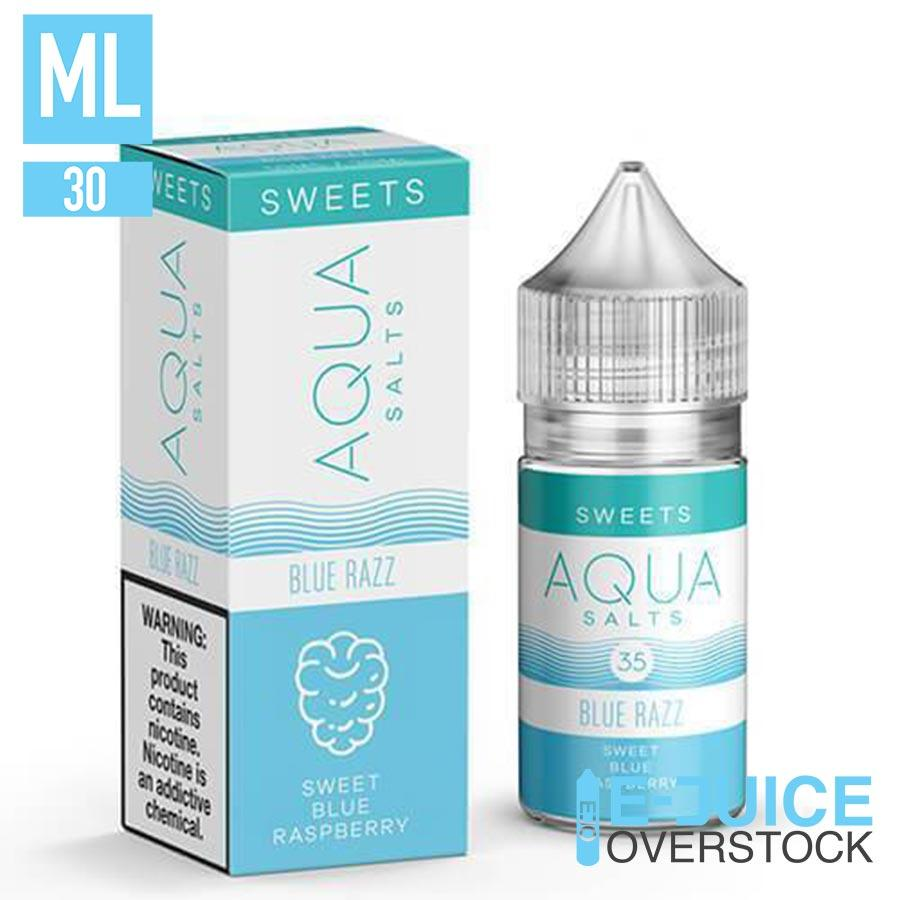 Blue Razz by Aqua Salts 30ML SALTNIC