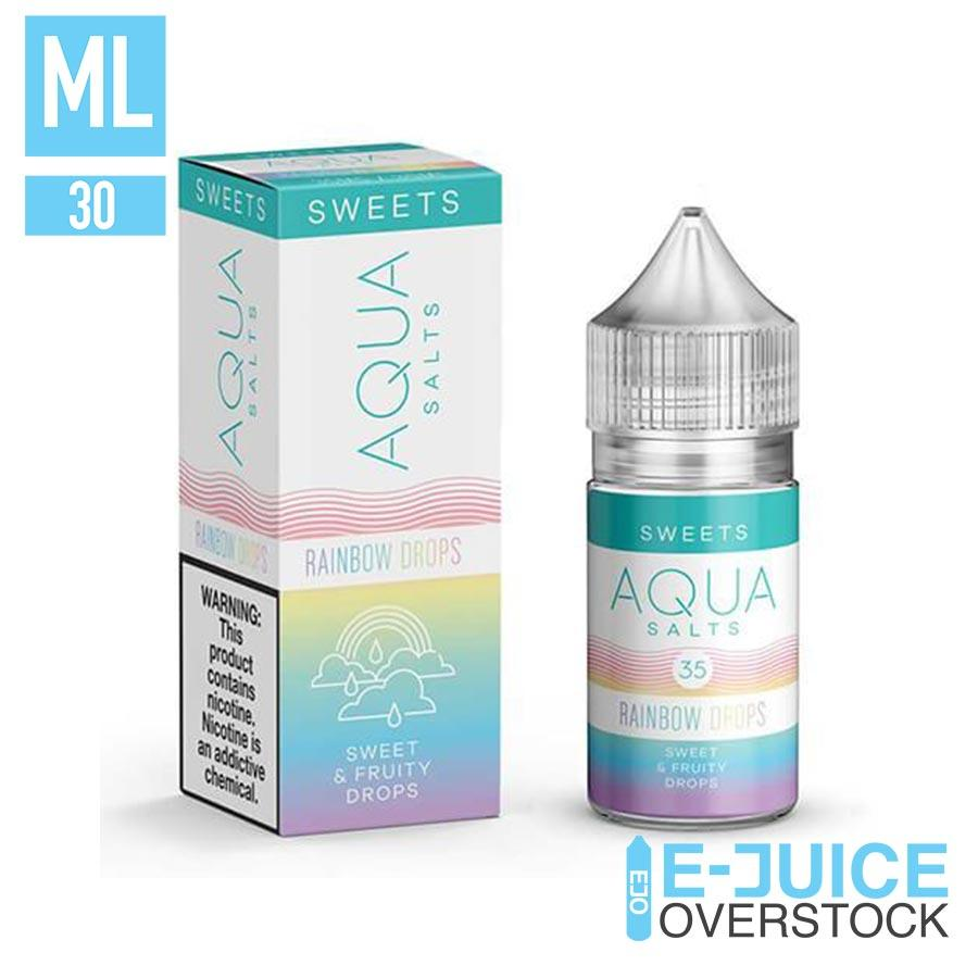 Rainbow Drops by Aqua Salts 30ml - SALTNIC