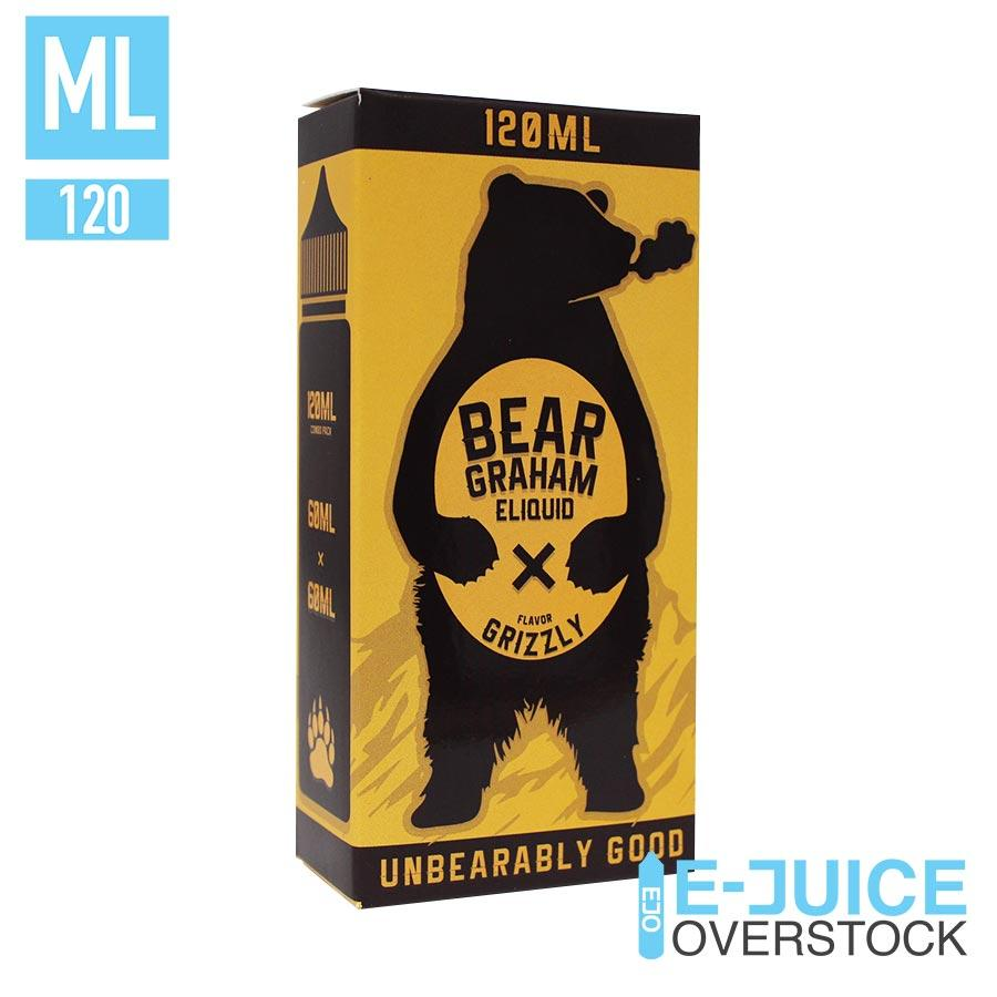 Grizzly by Bear Graham Eliquid 120ML Clearance