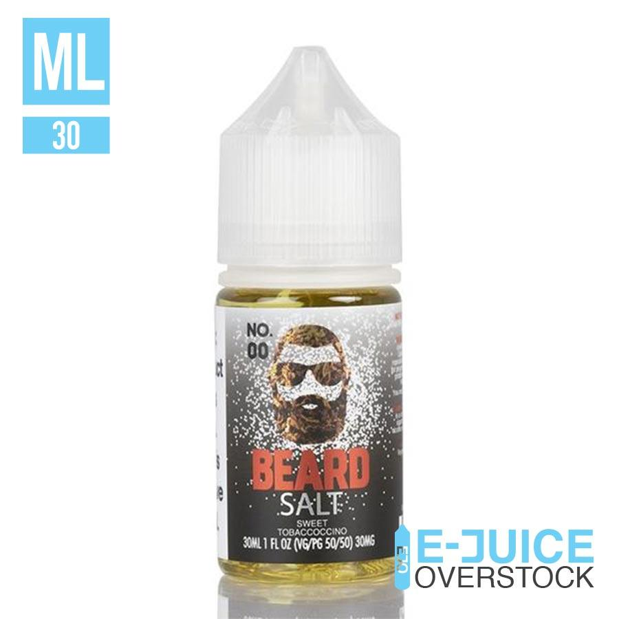 No 00 by Beard Salt 30ML SALTNIC