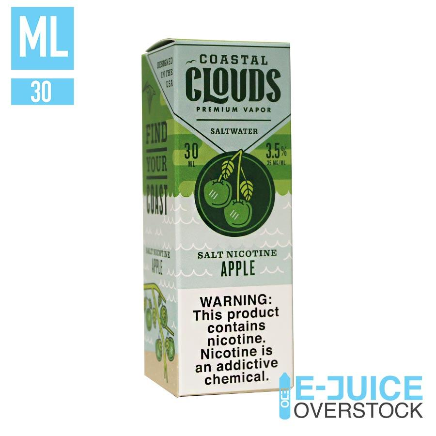 Saltwater Apple by Coastal Clouds Salts 30ML SALTNIC