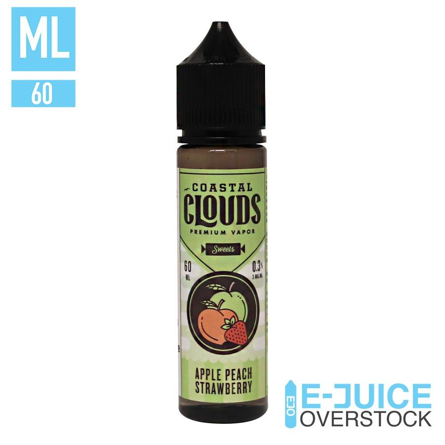 Apple Peach Strawberry by Coastal Clouds 60ML EJUICE