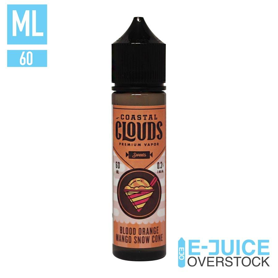 Blood Orange Mango Snow Cone by Coastal Clouds 60ML EJUICE