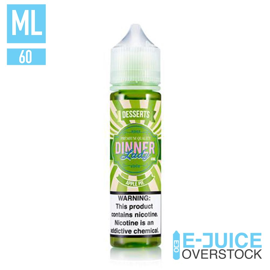 Apple Pie by Dinner Lady 60ml Clearance EJUICE