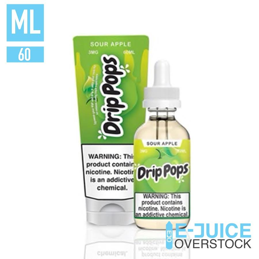 Sour Apple by Drip Pops Liquids - EJUICE
