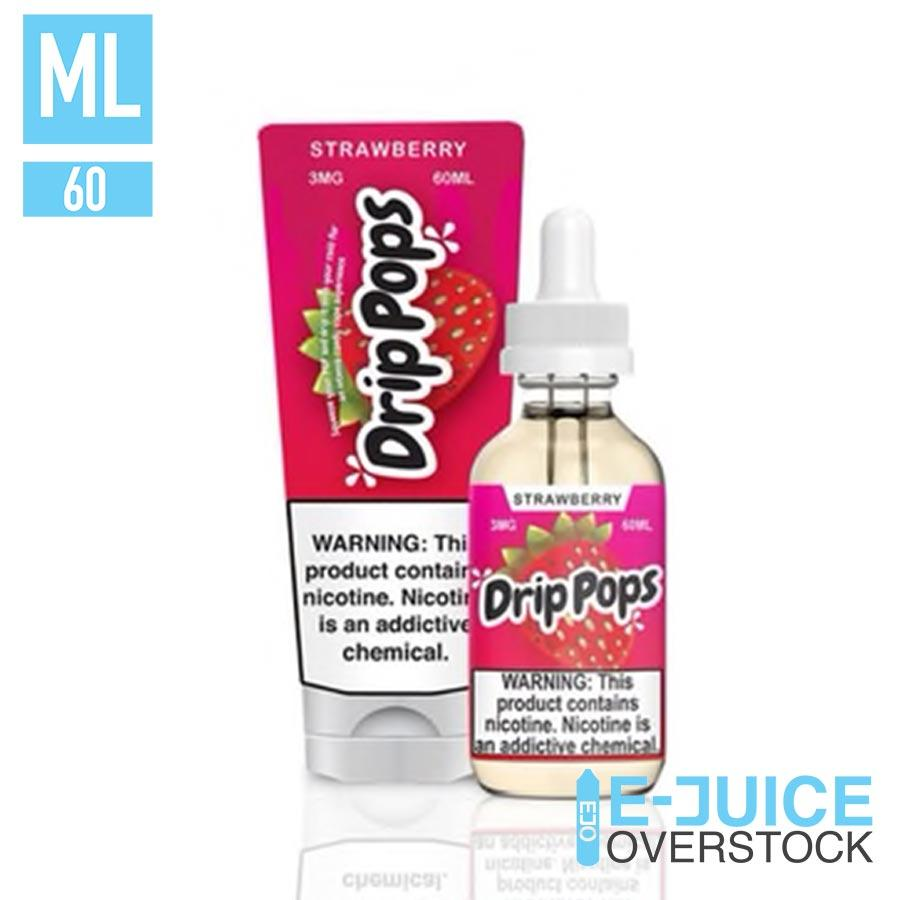 Strawberry by Drip Pops Liquids - EJUICE