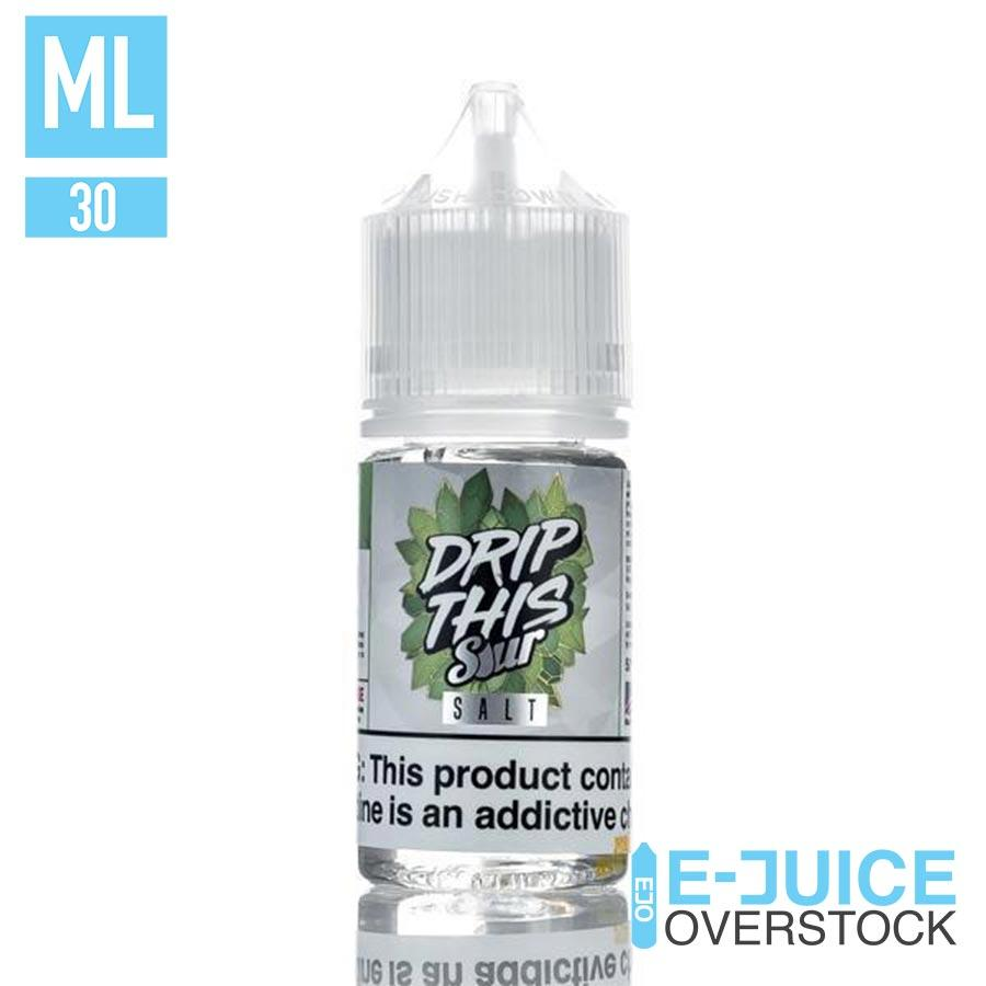 Sour Green Apple by Drip This Sour Salts 30ml - SALTNIC