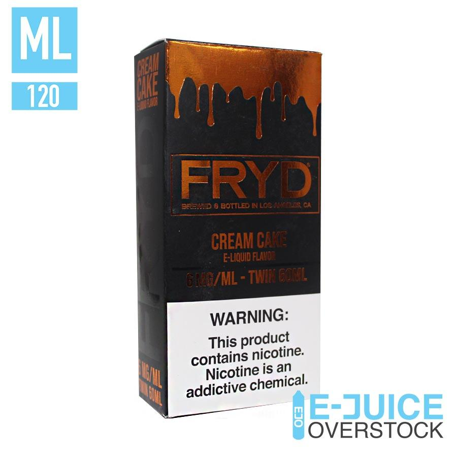 Cream Cake by Fryd Eliquids 120ML Clearance