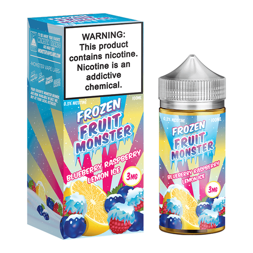 Blueberry Raspberry Lemon Ice by Frozen Fruit Monster 100ML EJUICE