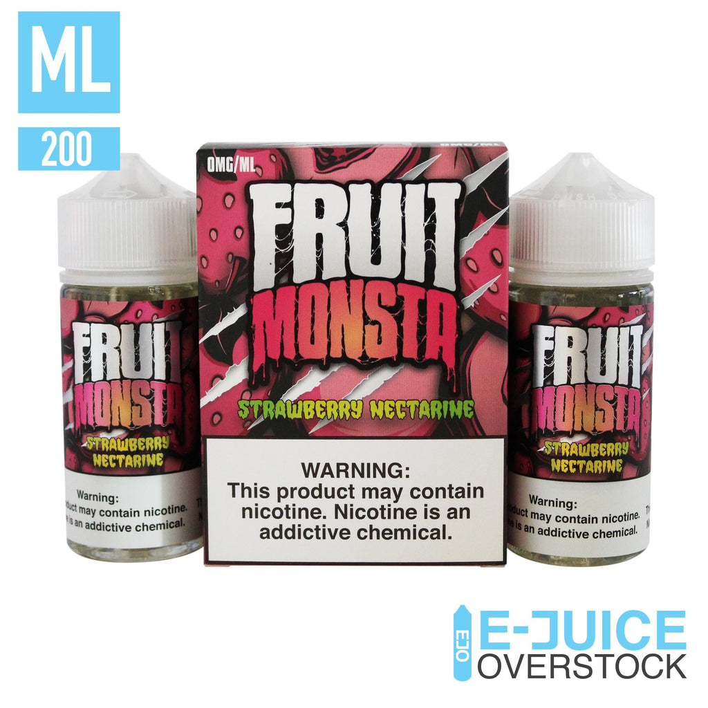 Strawberry Nectarine by Fruit Monsta E-Liquid (2 x 100ml) - EJUICE