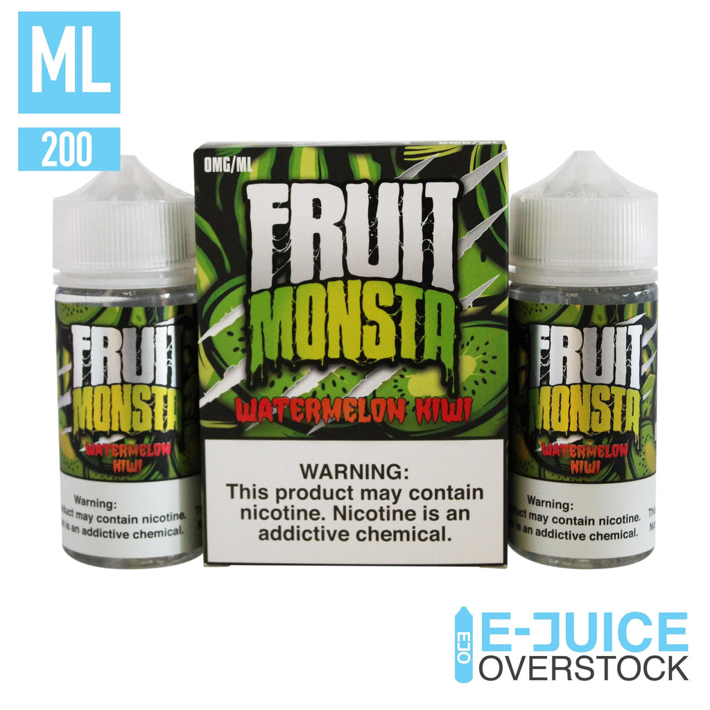 Watermelon Kiwi by Fruit Monsta E-Liquid (2 x 100ml) - EJUICE