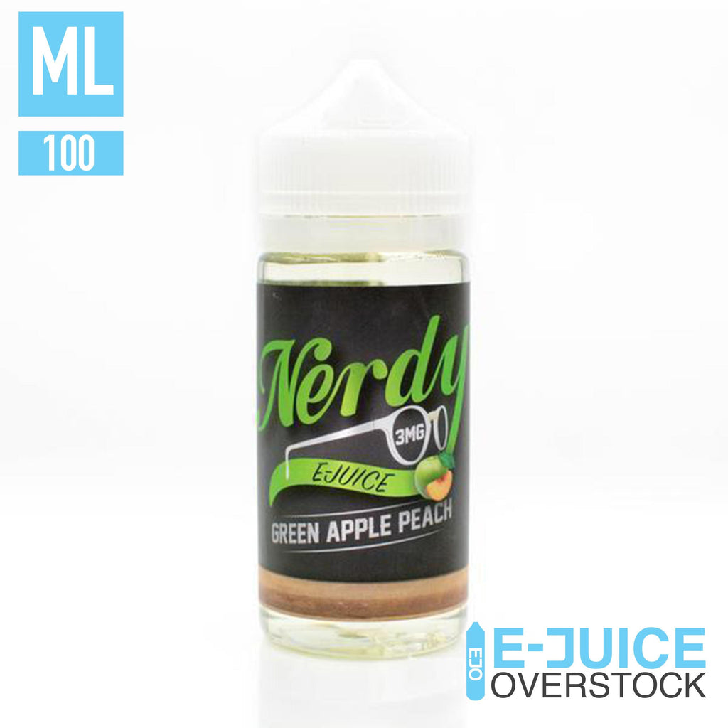 Green Apple Peach by Nerdy E-Juice
