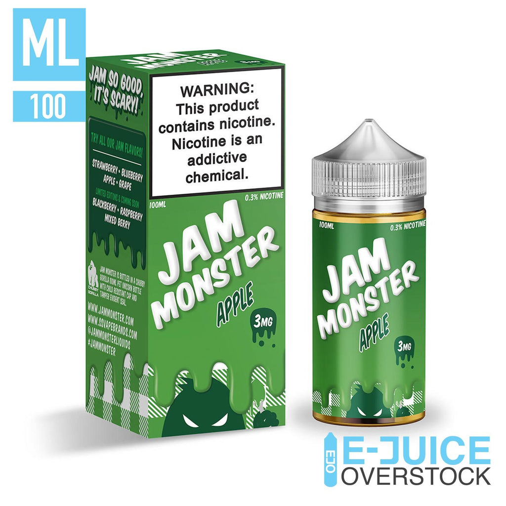 Apple By Jam Monster 100ML EJUICE - EJUICE