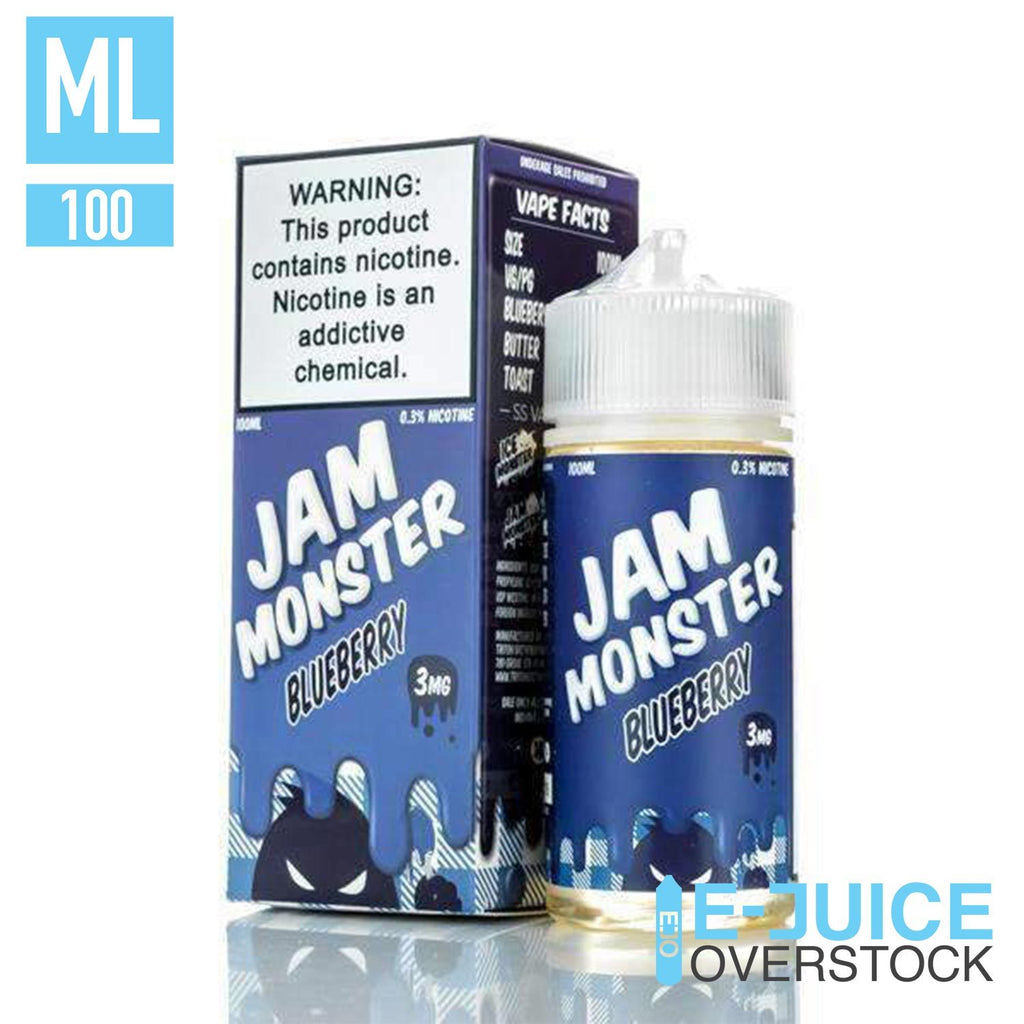 Blueberry By Jam Monster 100ML EJUICE - EJUICE