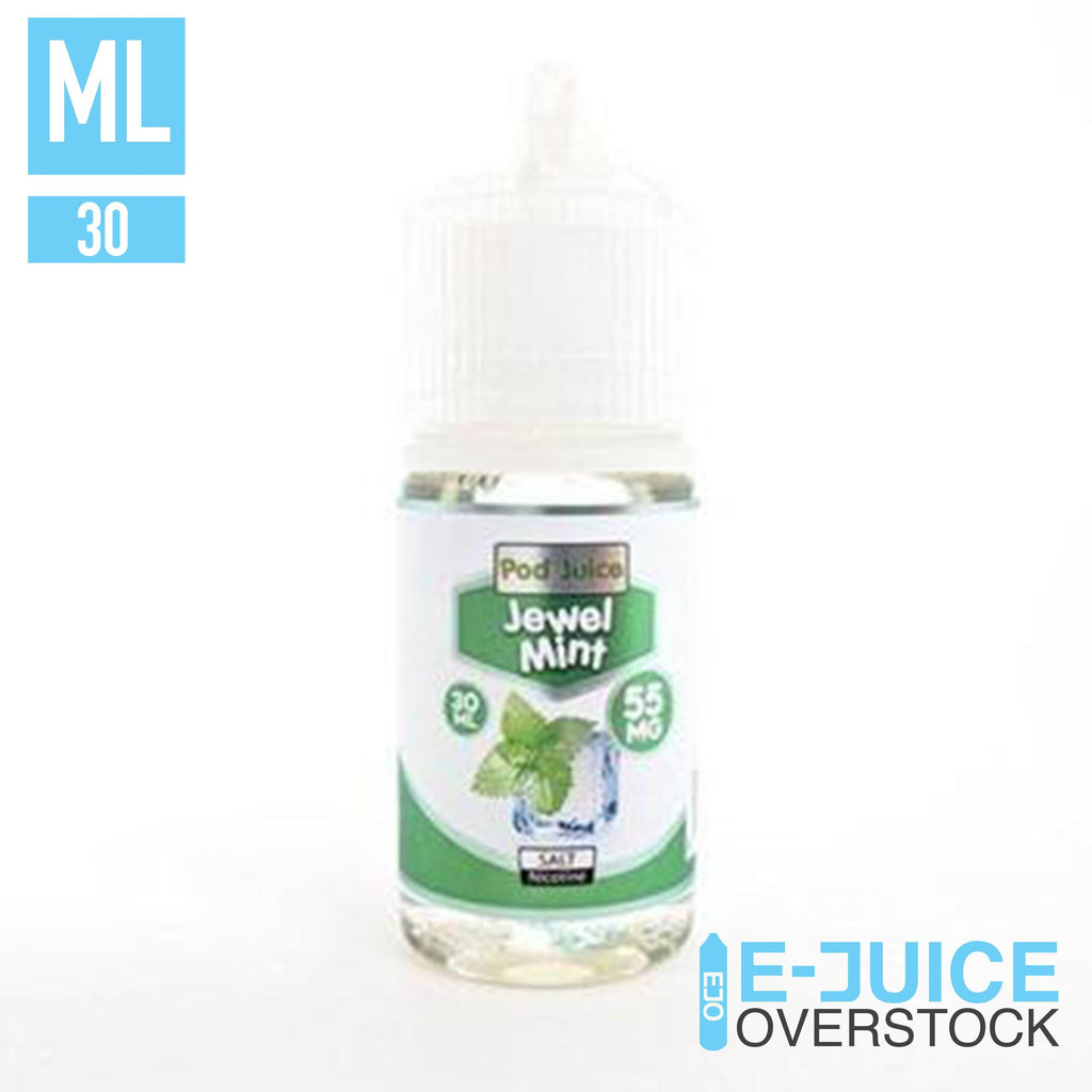 Jewel Mint by Pod Juice 30ml - SALTNIC