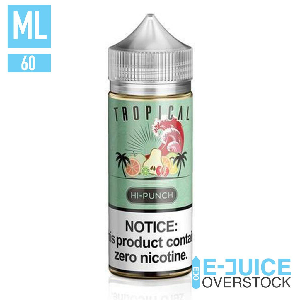 TROPICAL HI-PUNCH 100ML BY JUICE ROLL-UPZ - EJUICE