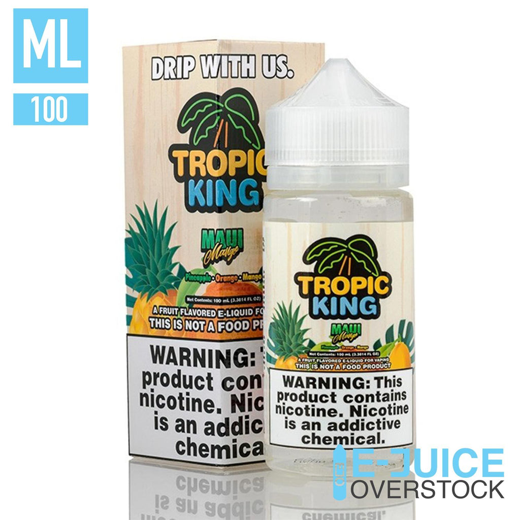 Maui Mango by Tropic King 100ML EJUICE