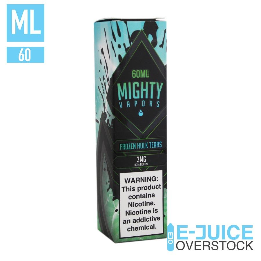 Frozen Hulk Tears by Mighty Vapors 60ML EJUICE