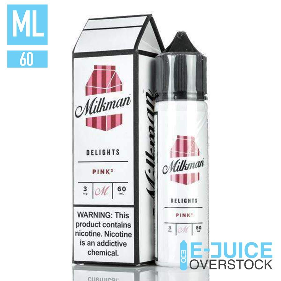 Pink 2 by The Milkman Delights 60ml - EJUICE