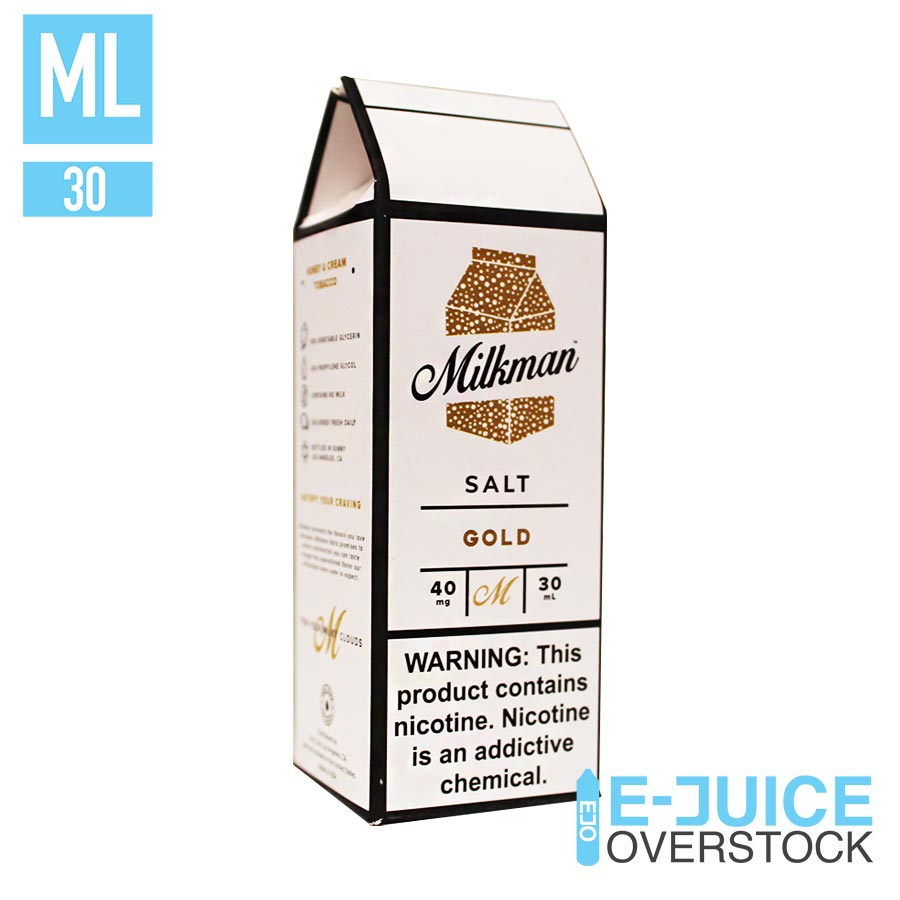 Gold by The Milkman Salts 30ML SALTNIC