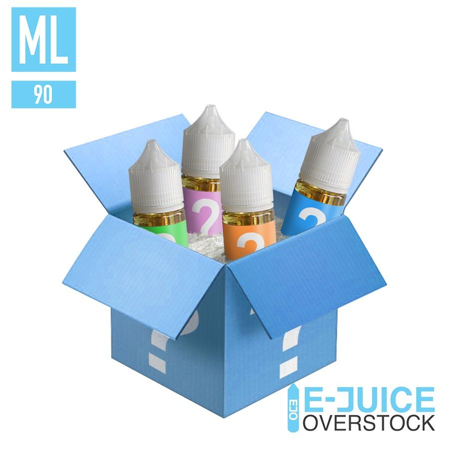 OVERSTOCK MYSTERY SALTNIC 90ML BUNDLE