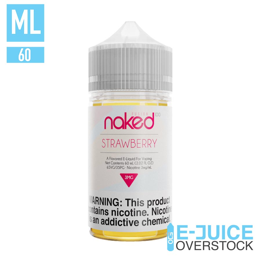 Strawberry by Naked 100 Fusion 60ML EJUICE