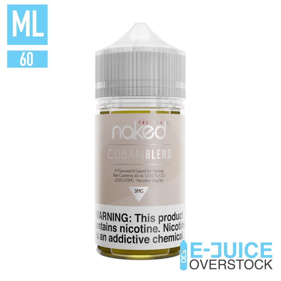Cuban Blend by Naked 100 60ML EJUICE