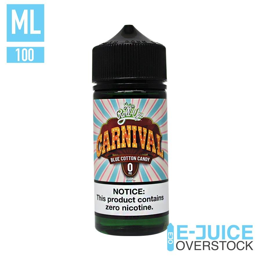 Blue Cotton Candy by Carnival Juice Roll Upz - EJUICE