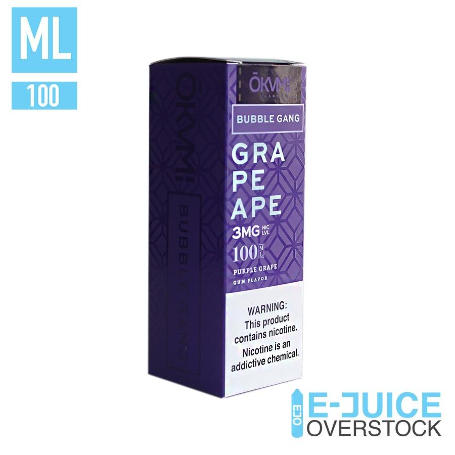 Grape Ape by Bubble Gang 100ML EJUICE