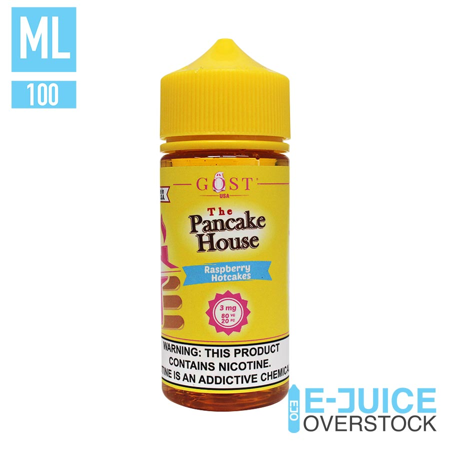 RASPBERRY HOTCAKES BY THE PANCAKE HOUSE 100ML EJUICE
