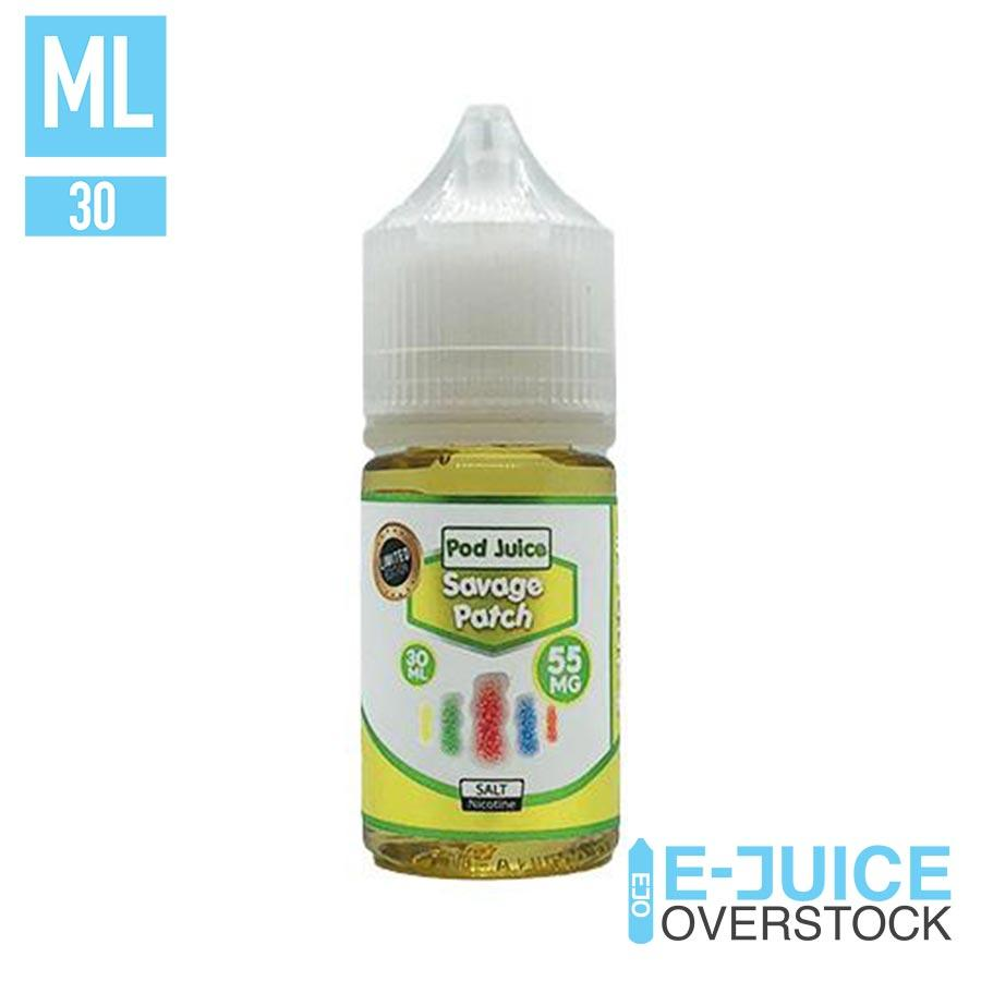 Savage Patch by Pod Juice 30ml - SALTNIC