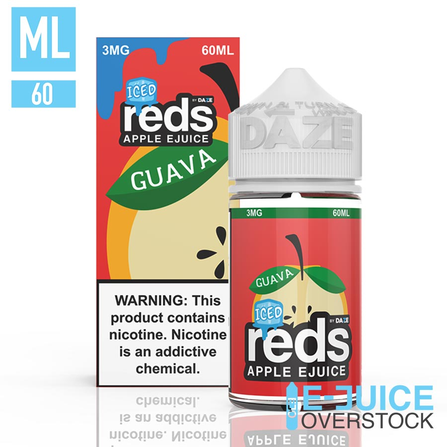 Iced Guava Reds by Reds Apple E-Juice 60ML EJUICE