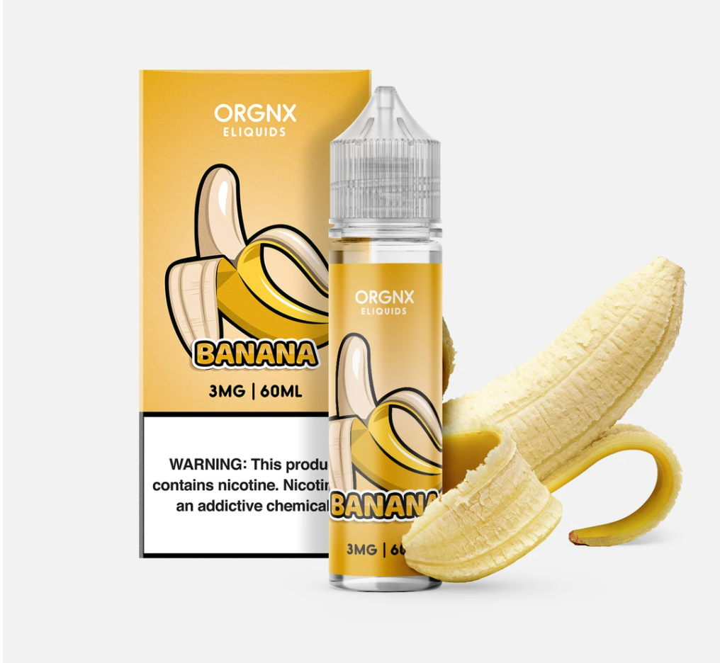 BANANA BY ORGNX ELIQUID 60ML EJUICE