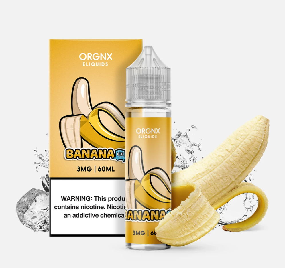 BANANA ICE BY ORGNX ELIQUID 60ML EJUICE