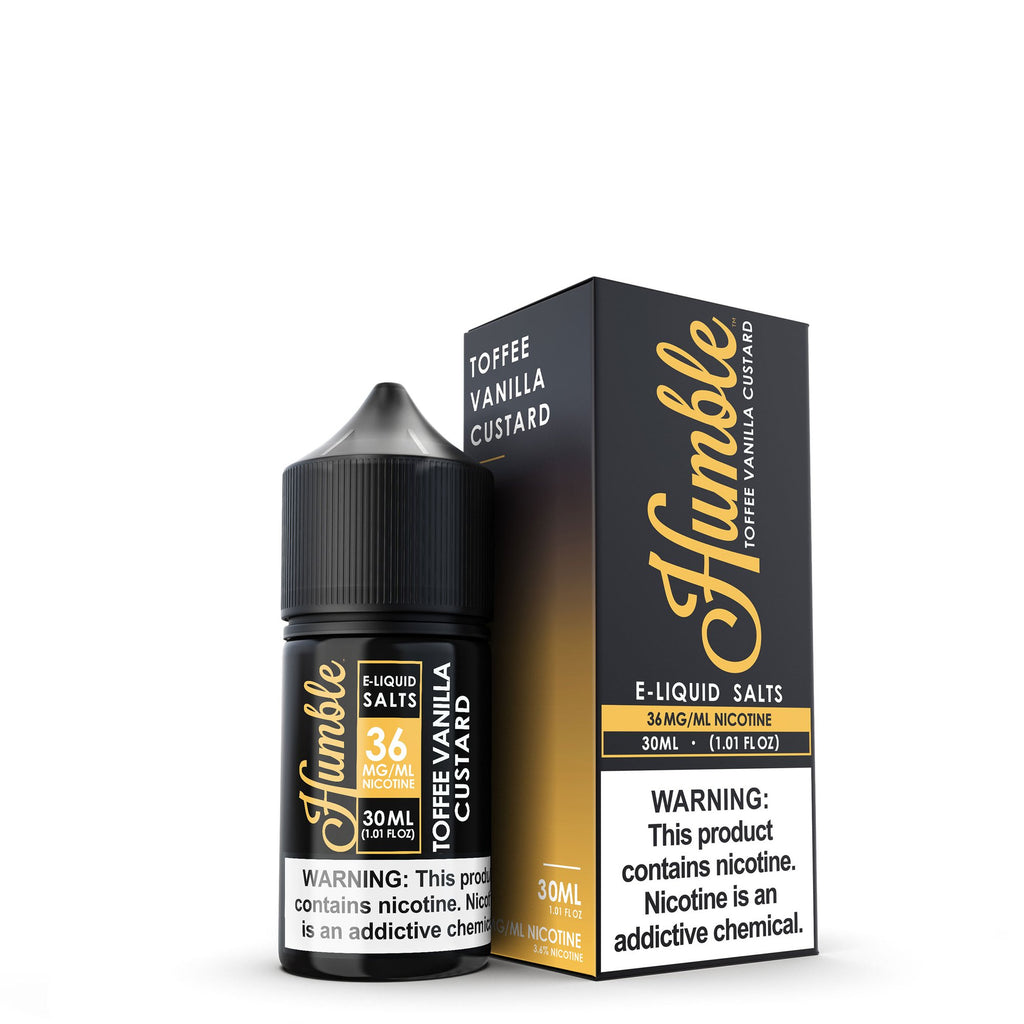 TOFFEE VANILLA CUSTARD NIC SALT 30ML BY HUMBLE JUICE CO.