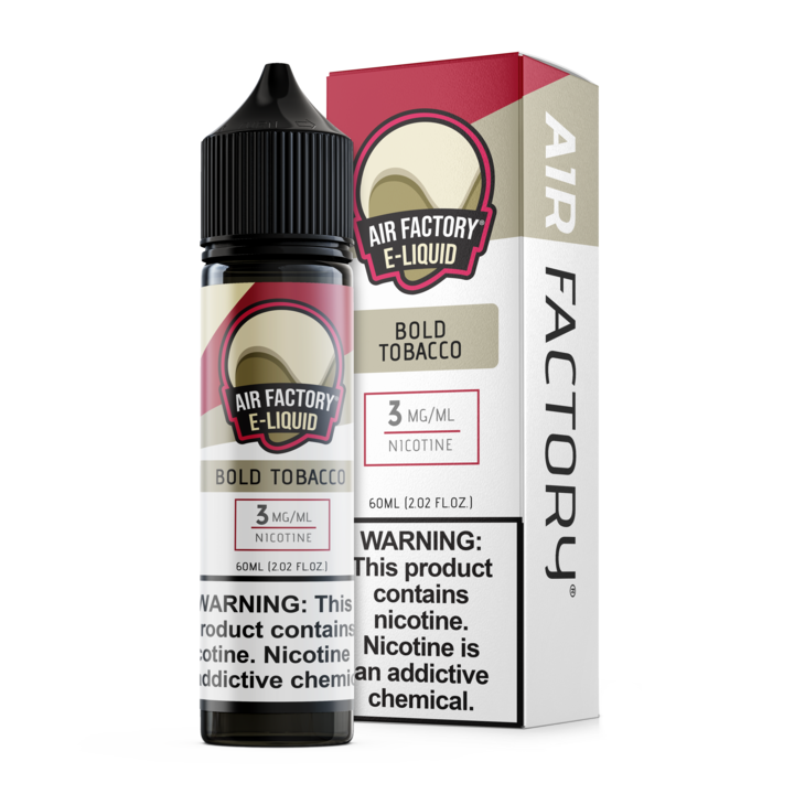 Bold Tobacco by Air Factory 60ML Ejuice