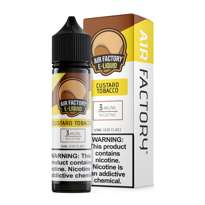 Custard Tobacco by Air Factory 60ML Ejuice