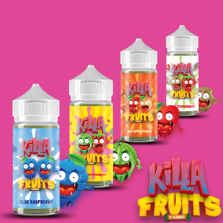 Killa Fruits Bundle Deal 400ML