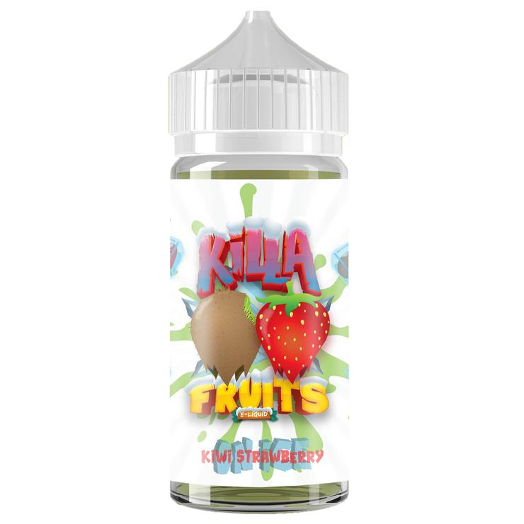 Kiwi Strawberry On Ice by Killa Fruits 100ML Ejuice