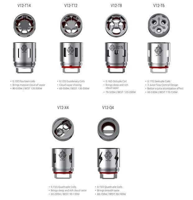 SMOK TFV12 Replacement Coil - COILS