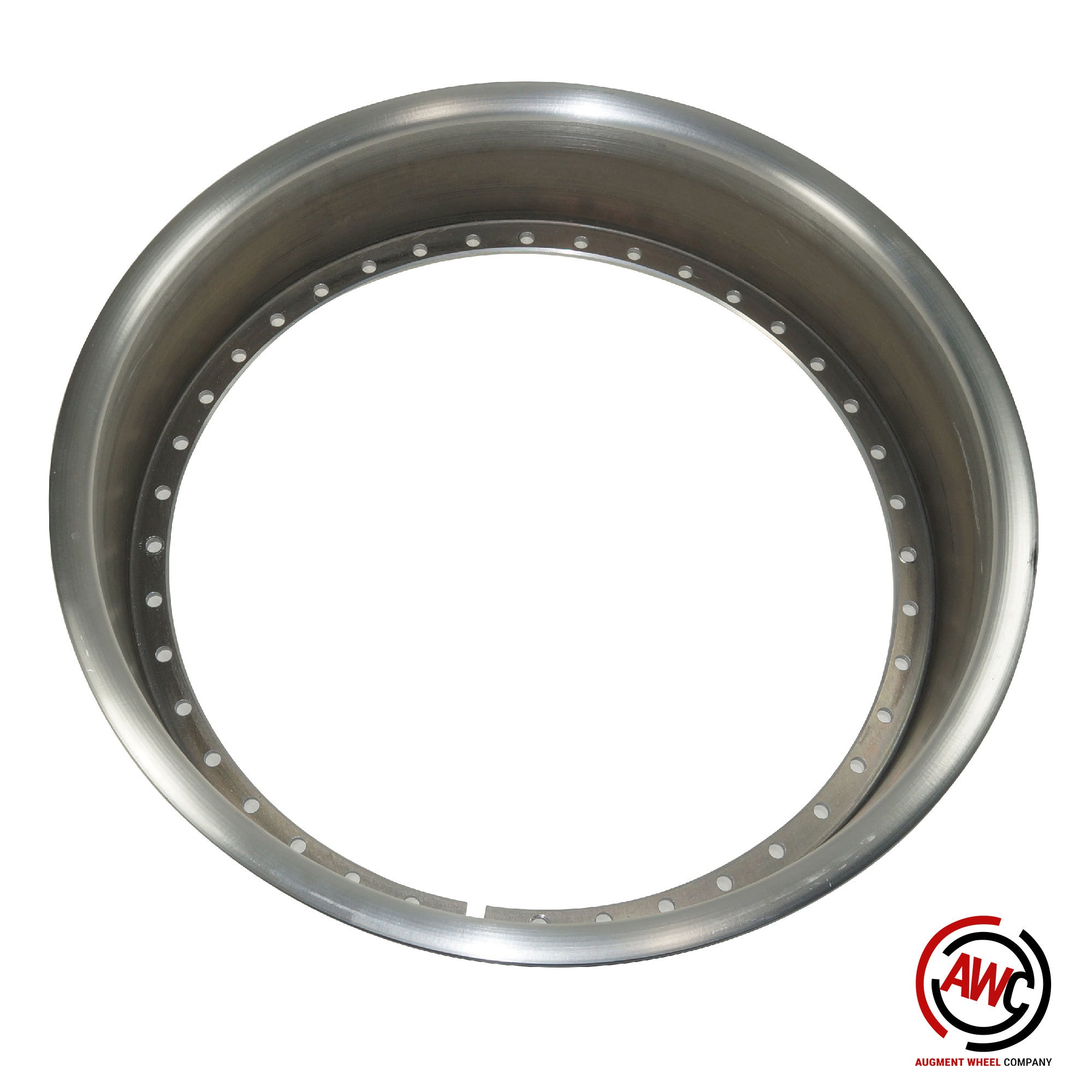"""18"""" Reverse Outer Lip - American Standard 40 Hole - Raw - Rolled Flange"""