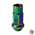 Titanium M12x1.25 Lug Nut - Open Ended (45mm)