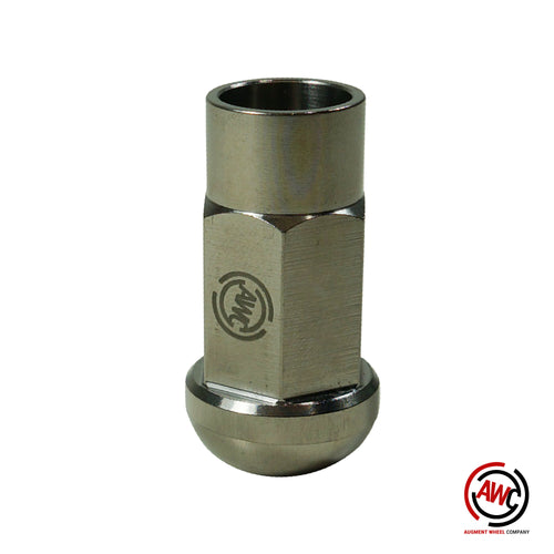 Titanium M14x1.5 Lug Nut - Open Ended 45mm