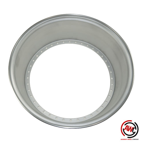 "18"" Step Inner Barrel - American Standard 40 Hole - Raw - Straight Flange"