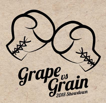 ***SOLD OUT *** The Ultimate Grape Vs. Grain 2018 Showdown