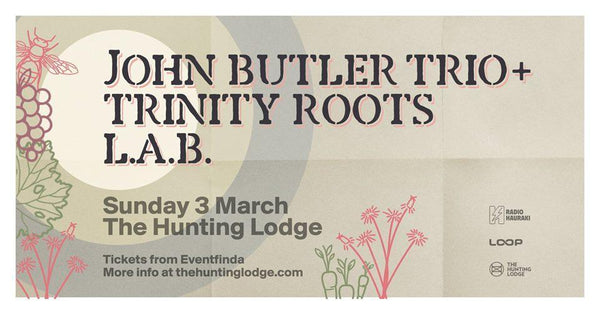 John Butler Trio, Trinity Roots & L.A.B - Adult Ticket