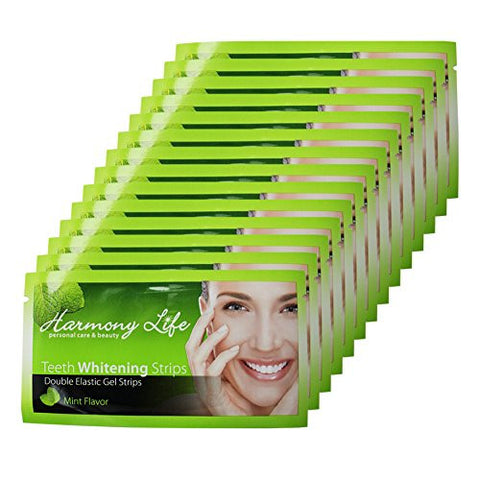 Harmony Life Teeth Whitening Strips 6%HP Professional Strength