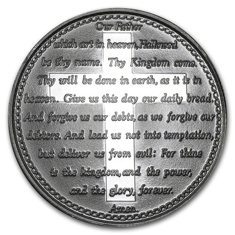 Lord's Prayer - 1 oz Silver Round